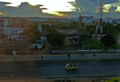 Chennai sunset