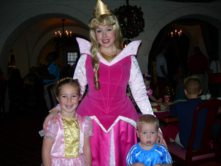 Abbie and Bryan with Cinderella