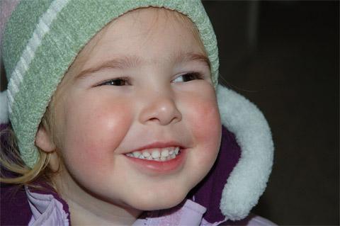 Abbie's Cute Smile