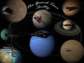Smitty's Grand Tour of the Solar System